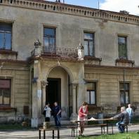 Propamatky.info: Zadní část zámku v Přílepích | Foto: Eva Husáková | Licence: Všechna práva vyhrazena